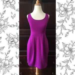 Orchid knit dress